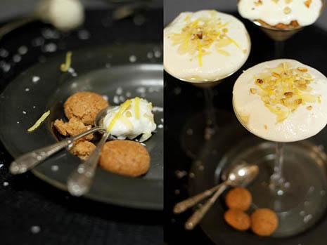 Lemon Amaretti dessert: ideal Christmas finale