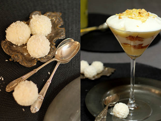 Amaretti & Lemon trifle - a sweet treat end meal