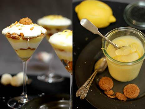 Amaretti & Lemon trifle: a sweet treat end of meal