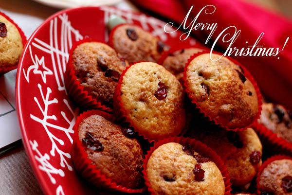 Cranberry & Nutmeg Muffins