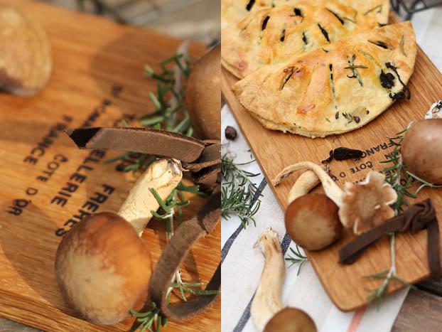Mushroom pastizzi