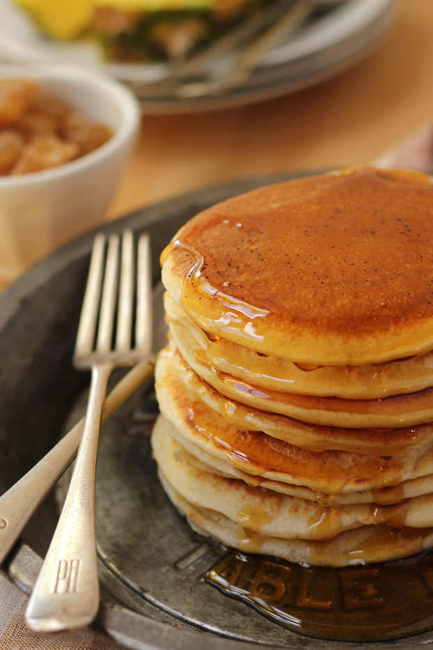 perfect pancake stack