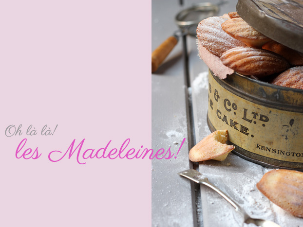 French-style Madeleines!