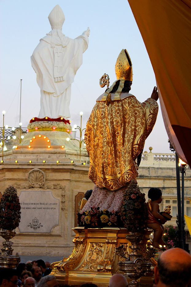 St Nicholas festa, Siggiewi, Malta