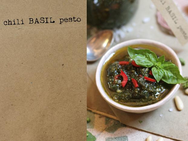 Mediterranean Chili Basil Pesto