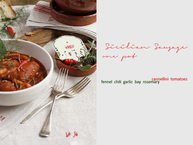 Sicilian Sausage One-Pot Casserole