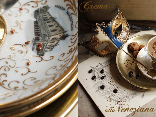 Crema mocha amaretti alla veneziana