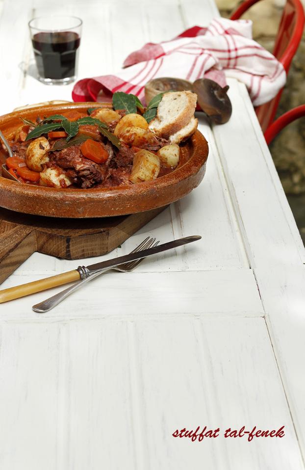 Rabbit stew Maltese style