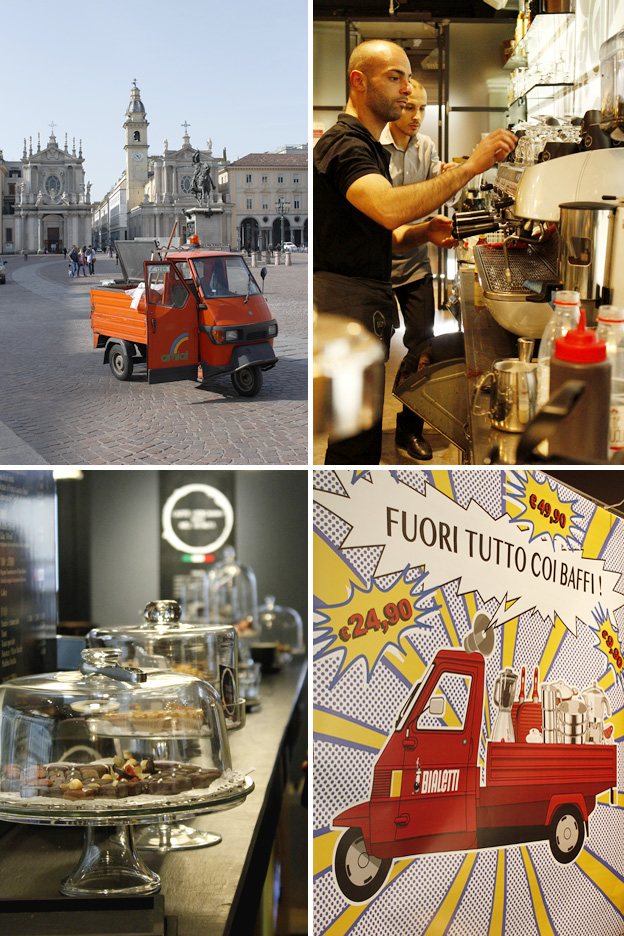 Torino: a city for coffee & chocolate lovers