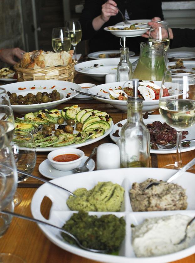 A tavola at Tal-Petut. Birgu, Malta