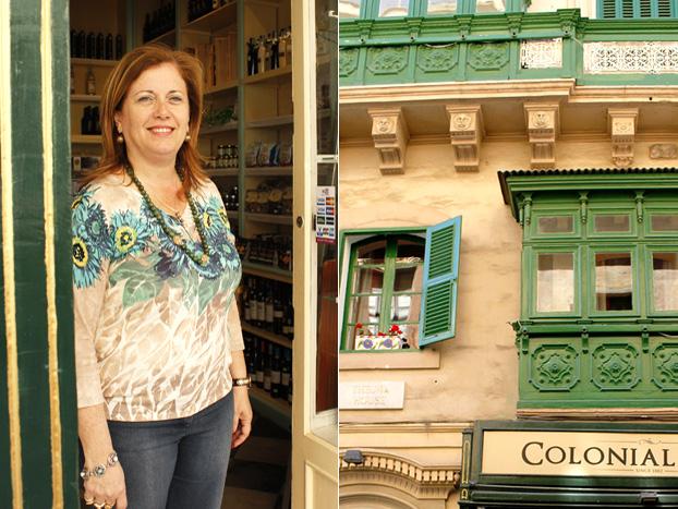 Stefania Vella, owner, Colonial Store, Valletta, Malta