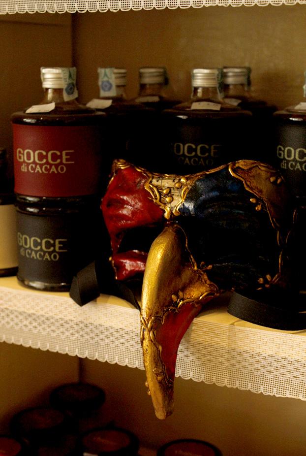 Caravaggio's chocolate