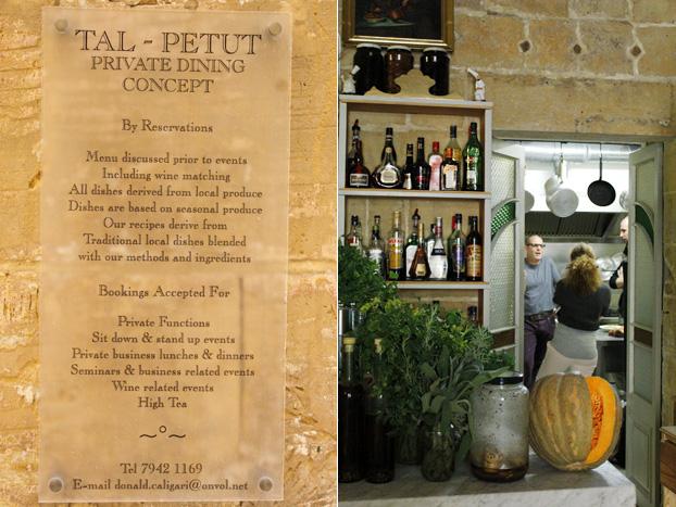 Tal-Petut, Birgu, Malta - private dining concept