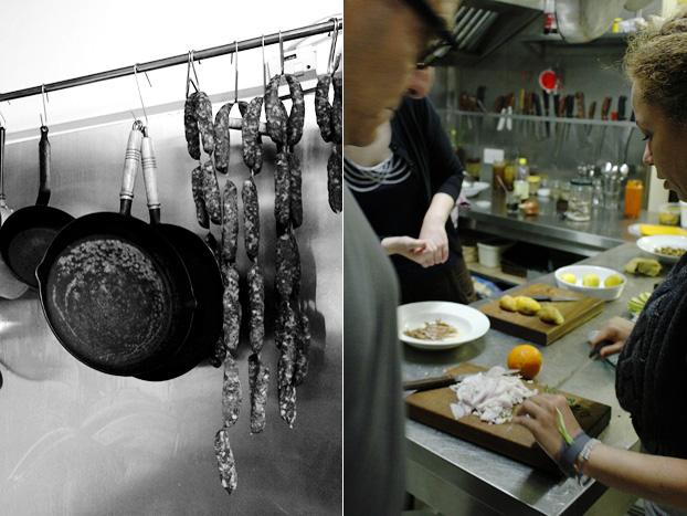 Prepping behind the scenes, Tal-Petut, Birgu, Malta
