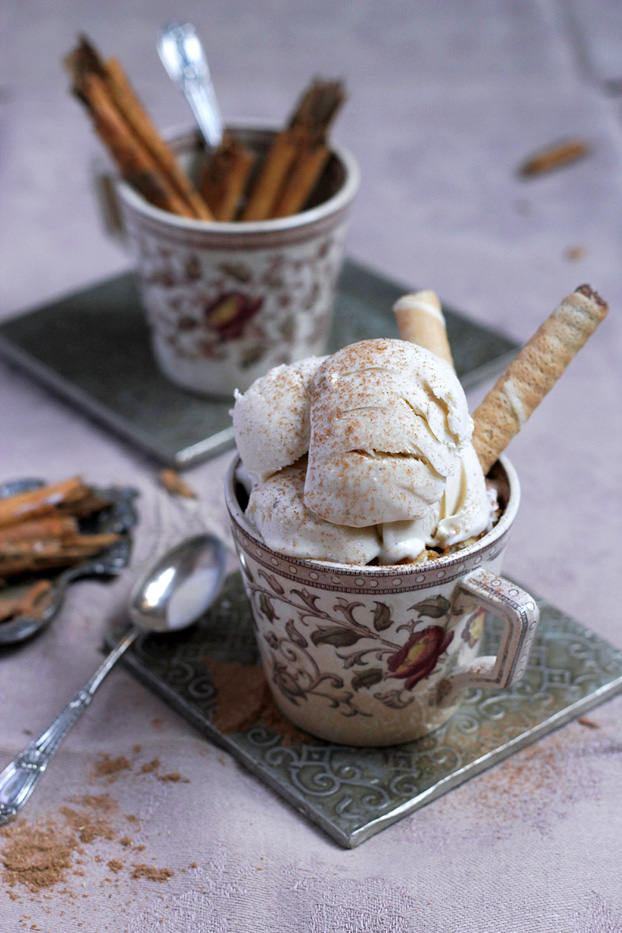 Maltese Wedding Cinnamon Ice Cream