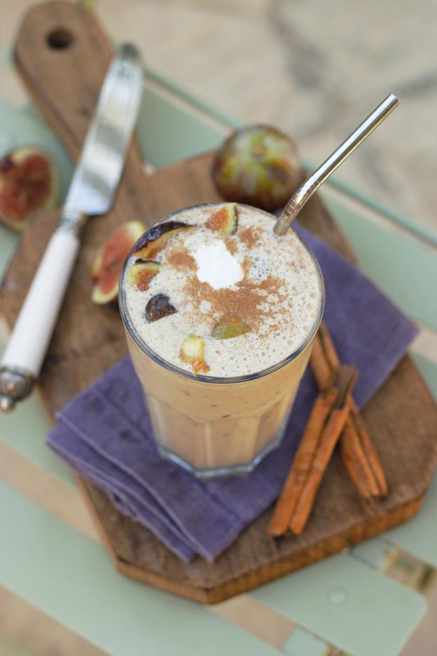 Fig & Cinnamon Breakfast Smoothie