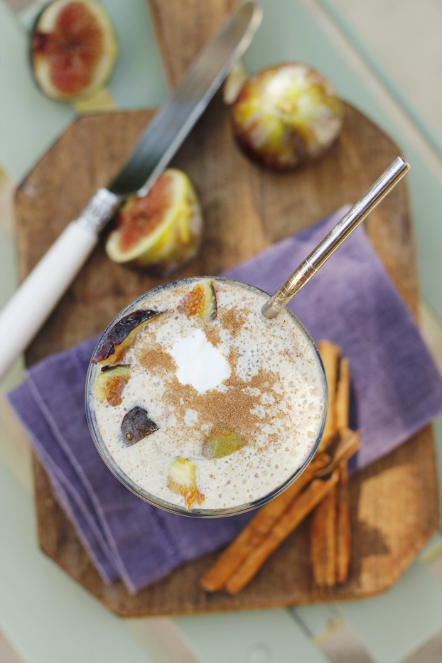 Fig and Cinnamon Breakfast Smoothie