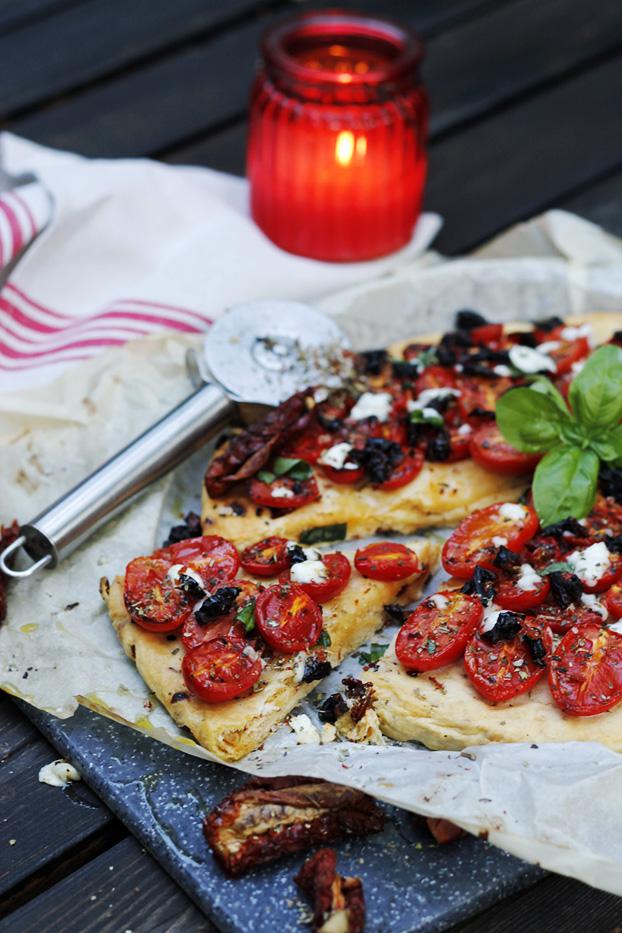 Two Tomato Tart
